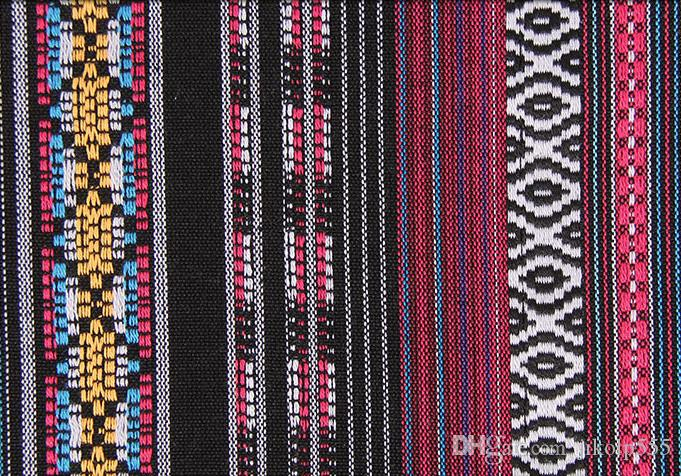 The latest trend of woven stripe jacquard fabric style clothing, dress, bags, tablecloths, curtains, tablecloths, pillow fashion