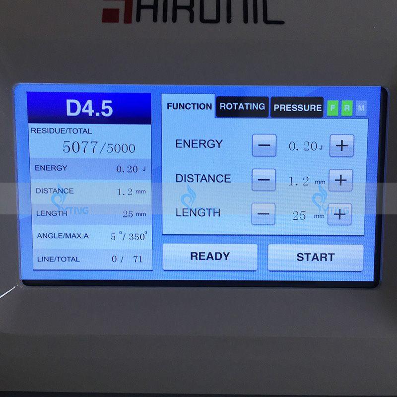 Spa Salon Kullanımı HIFU Vajinal Sıkma Makinesi Yüksek Yoğunluklu Odaklanmış Ultrason HIFU Vajina Asansör Güzellik Makinesi 3.0mm 4.5mm Kartuşları