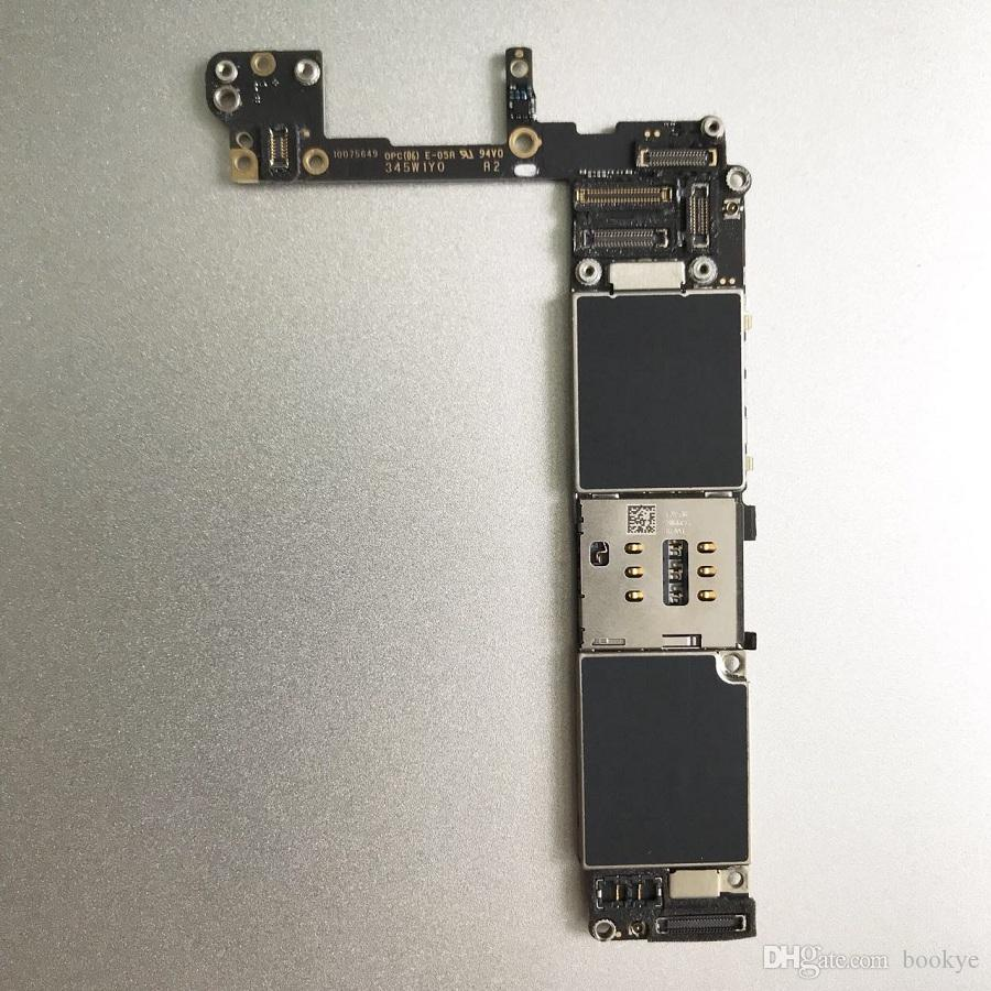 For IPhone 6S Original Motherboard 16GB 64GB Logic Board Unlocked NO Touch ID 100% Good Working mainboard IOS system card