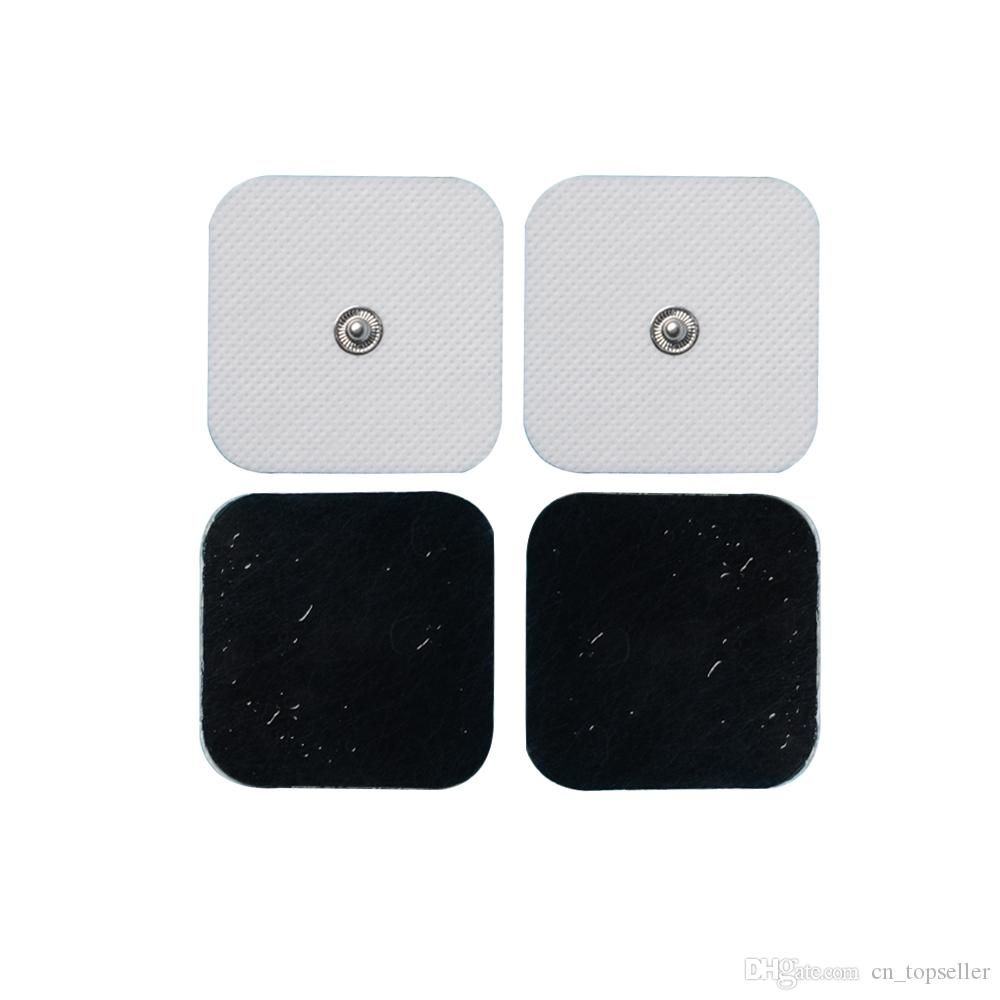 Conductive Electrodes Pads Use For TENS/EMS Unit Size 2*2 inches With Button 3.5mm Electro Pads