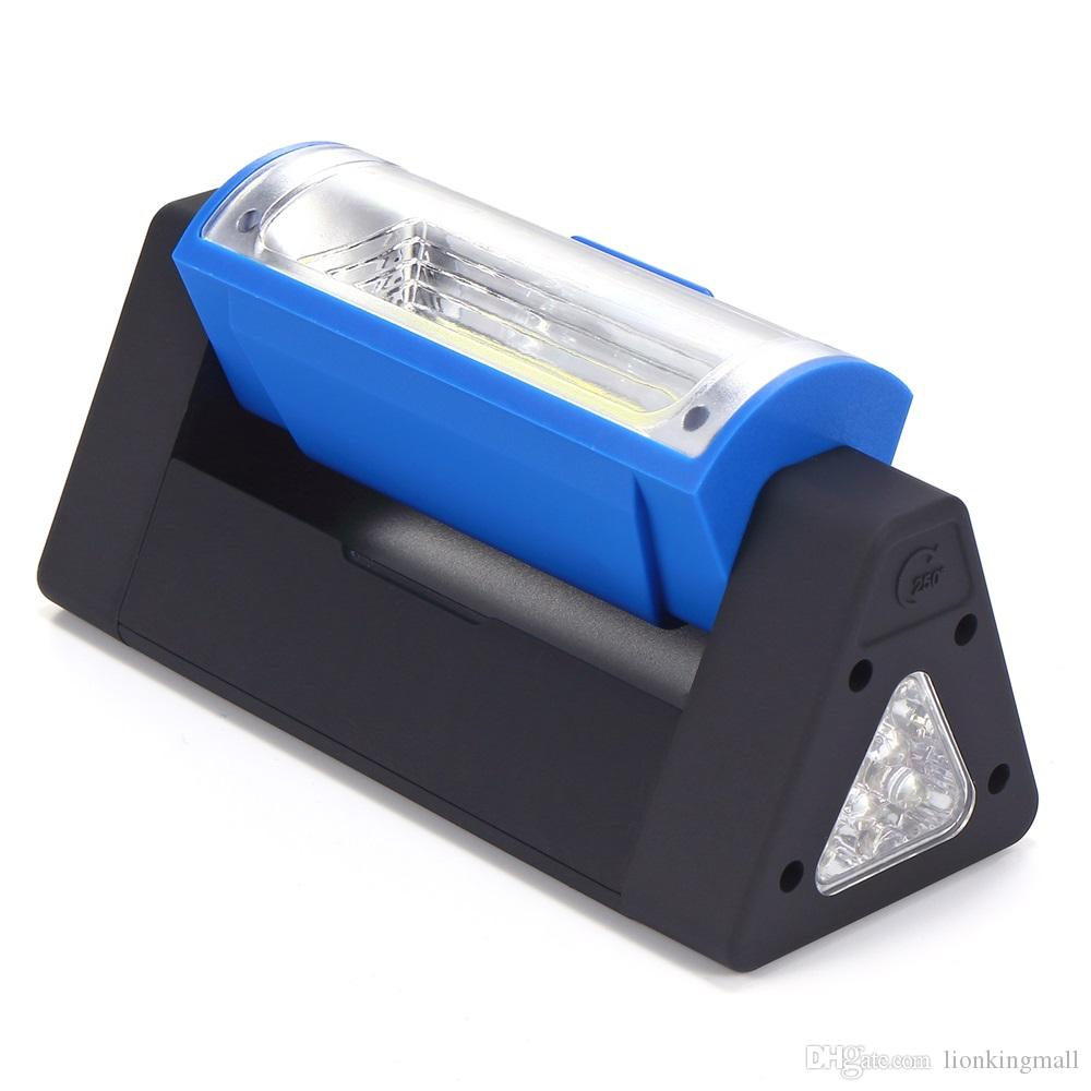 AloneFire C016 Super Bright COB LED Magnetic Work Light Flashlight pocket lamp linternas with Folding Hanging Hook for Outdoors Lighting