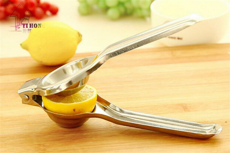 Yi Hong En Acier Inoxydable À La Main Juicer Citron Presse-agrumes Orange Squeezer Bébé Maison Mini Jus De Fruits Presse Machine