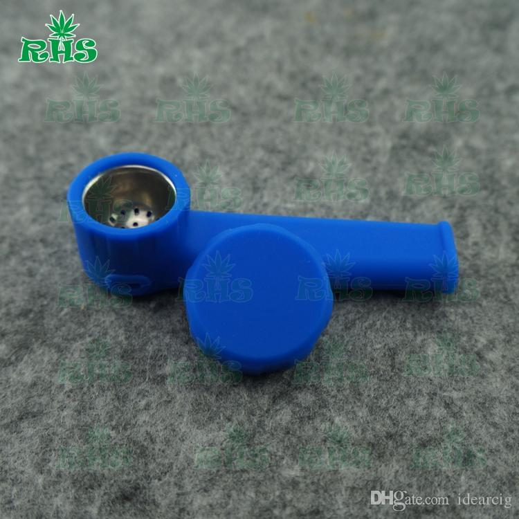 2018 Silicone Smoking Pipe For Sale Pipes Spoon Glass Pipes Hand ...