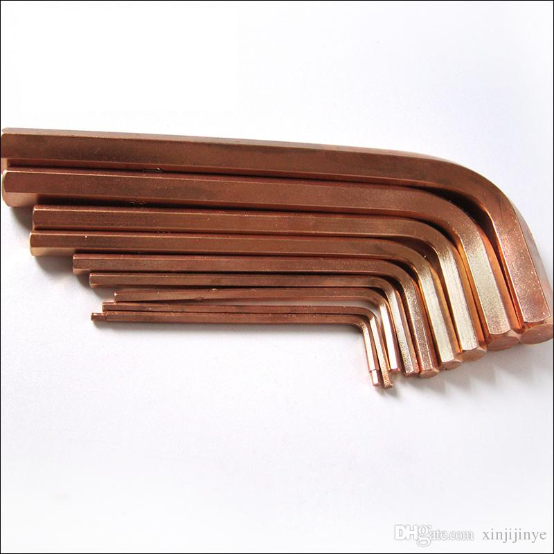 3mm Hex Allen Key Wrench Spanner ,nonmagnetic and Non sparking,Beryllium Bronze Wrench