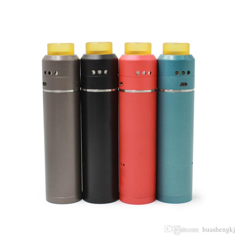 Newest Vaporizer 528 Goon Pro kit Competition Starter Kits Bottom Air Flow with goon 528 pro RDA PEI drip tips E Cigarettes Vape Mod DHL