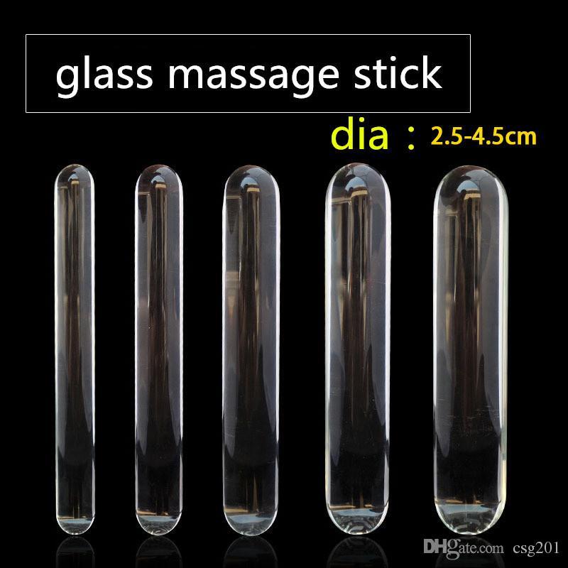 sunshine thai massasje glass dildo