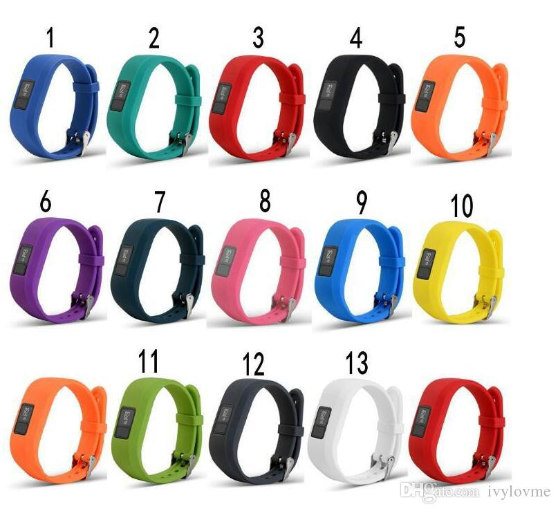 New Soft Silicone Replacement Wrist Watch Band Strap for Garmin Vivofit3 Vivofit 3 Smart Watch DHL Fast Ship factory price