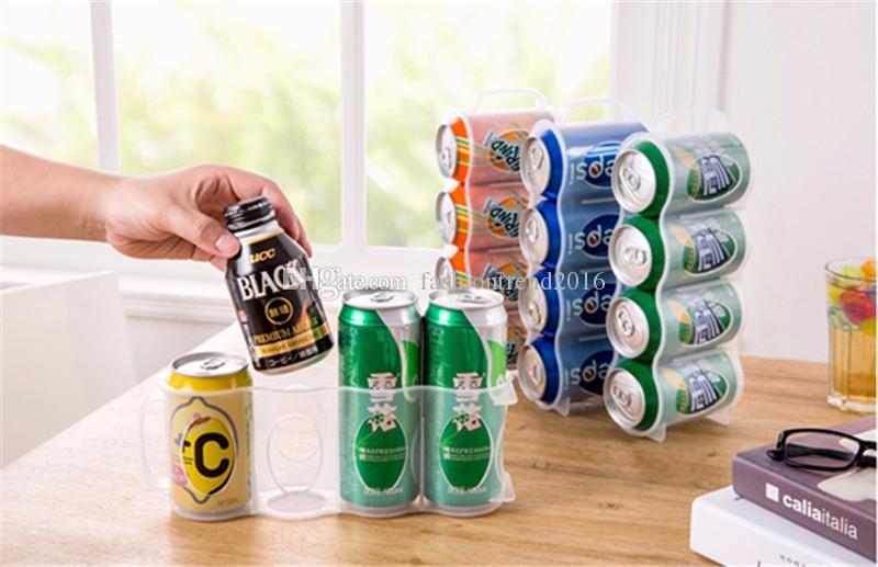 Refrigerator Storage Box Kitchen Accessories Beverage Can Space-saving Cans Finishing Four Case Organizer