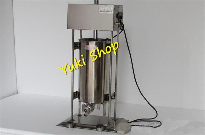 N14 Ticari Churro Maker 15L Otomatik Elektrikli Churros Makinesi İspanyol Churros Makinesi Satılık Paslanmaz Çelik