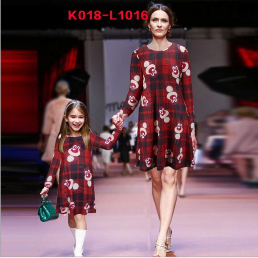 Großhandel Neue Weihnachtskleid Familie Zusammenpassende Kleidung ...
