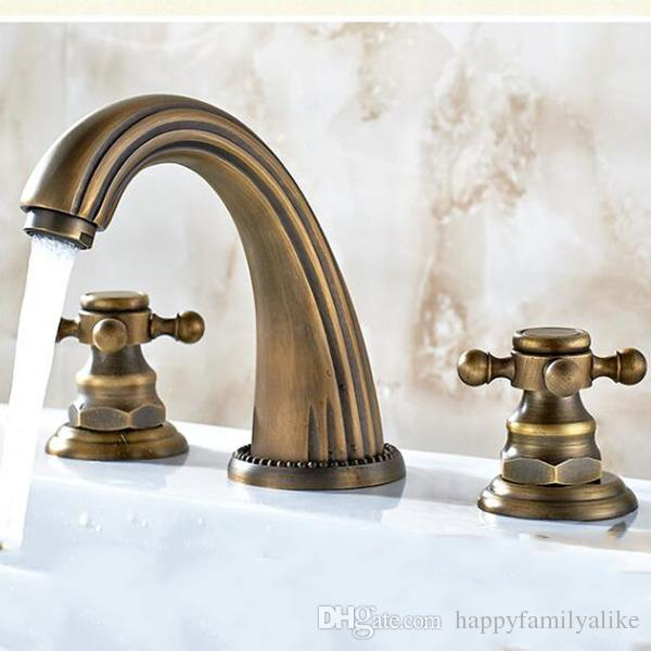94 Extraordinary Victorian Style Bathroom Faucets Picture Inspirations: 2018 Antique Style Widespread Lavatory Faucetscommercial Three Compartment Faucet Basin Faucet