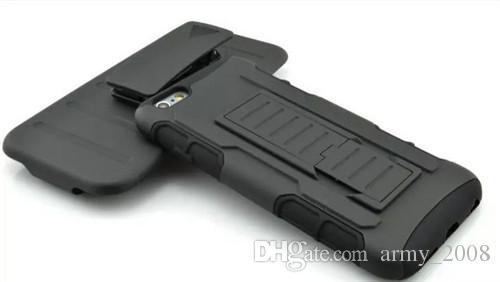 6S S6 Future Armor Impact Hybrid Hartschalenetui + Gürtelclip Kickstand Combo für iPhone 4 5 6s Plus Samsung Galaxy S5 S6 Edge Note4