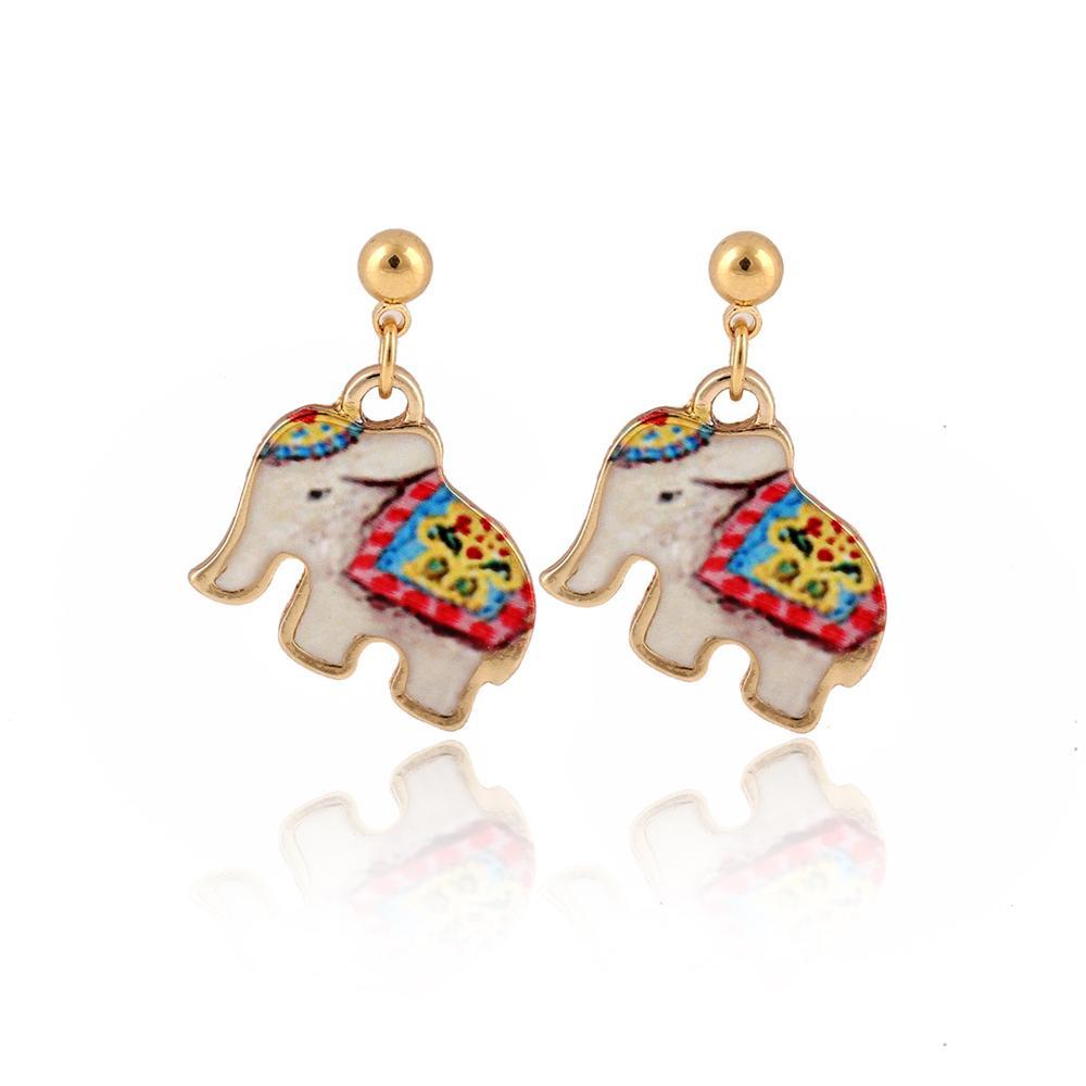 Popolare Perla ornamenti di moda Olio sgocciolante Naughty Elephant Suit Piccoli prodotti di alta qualità jl-494