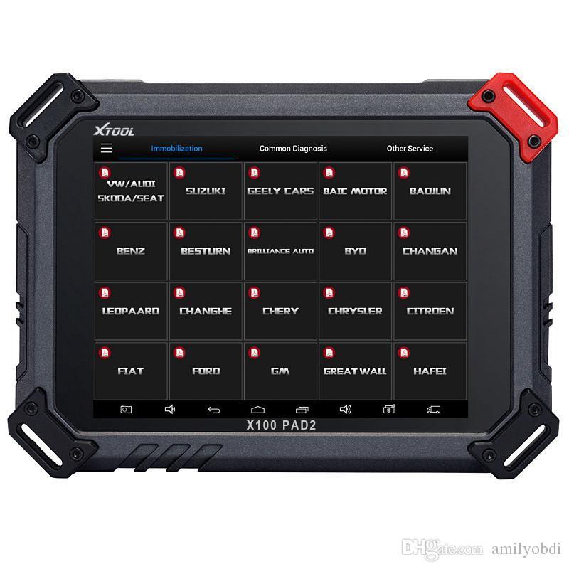 XTOOL X100 PAD2 OBD2 자동 키 프로그래머 주행 보정 도구 코드 리더 자동차 진단 도구 특수 기능