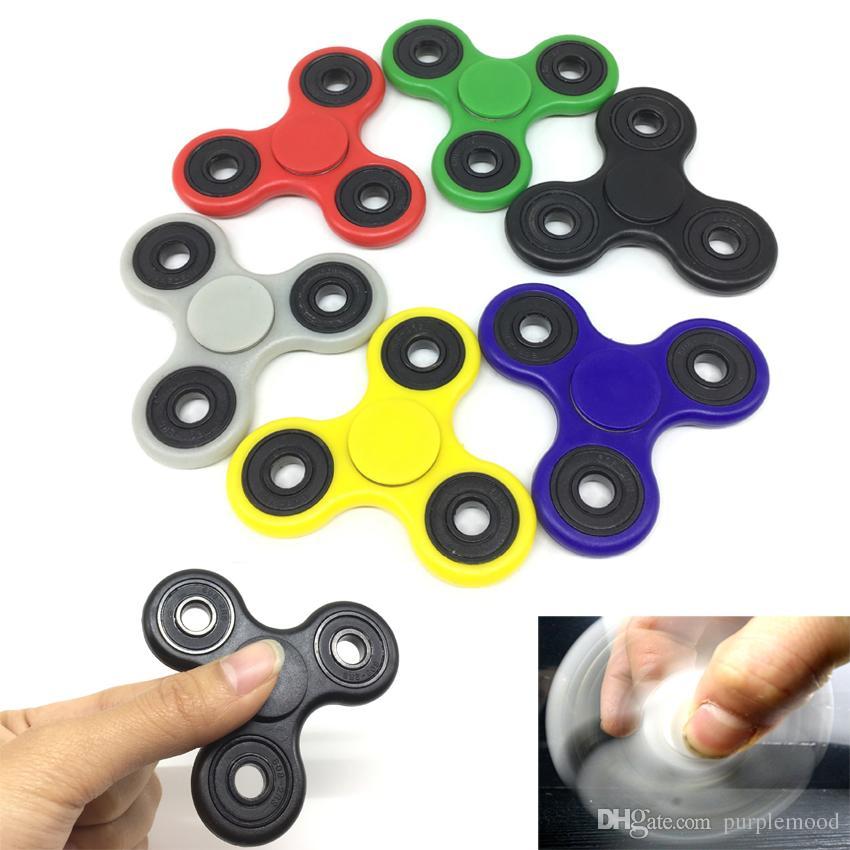 New Spin Toys : New creative fidget spinner desk anti stress finger spin