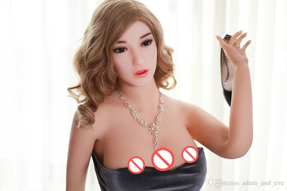 Bambola piena del sesso del grande del corpo della bambola del sesso a grandezza naturale di 165cm Bambola del sesso del seno grande bambola reale molle anale della vagina tre del seno