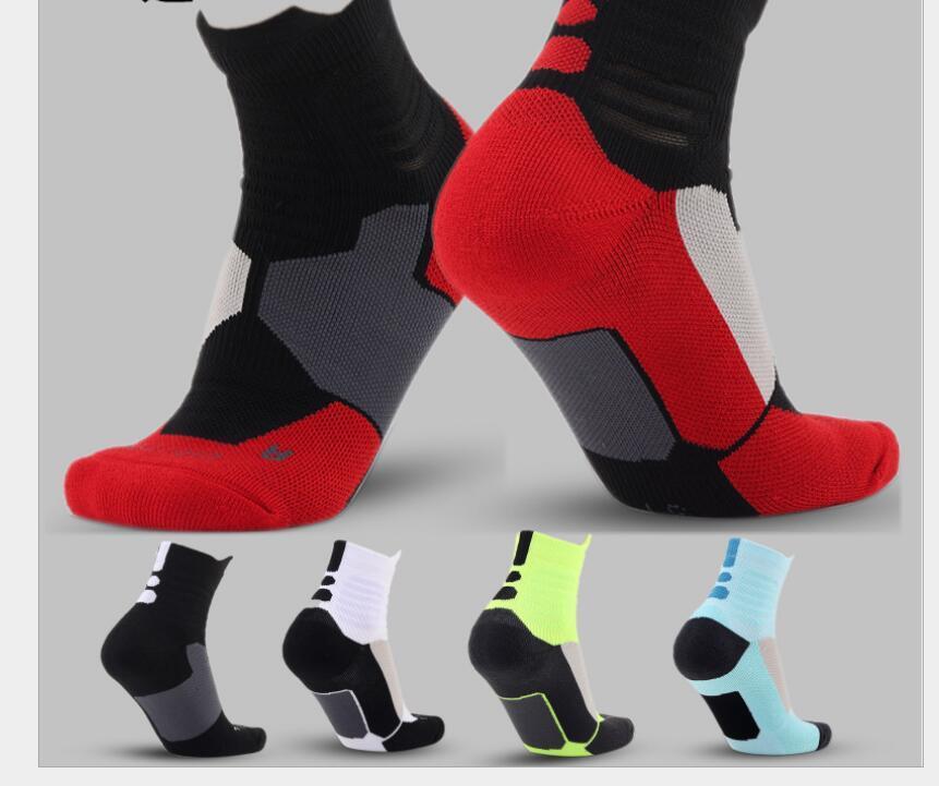 Baratos de descuento nuevos deportes profesionales Calcetines con gruesas toallas Calcetines baloncesto de la élite del fútbol al aire libre calcetines de deporte es envío libre de DHL