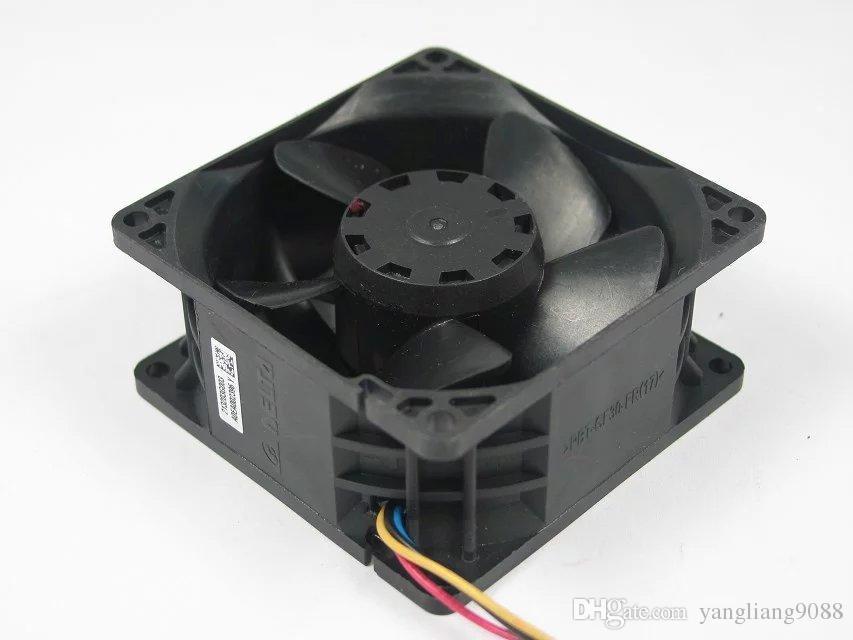 Delta QFR0812UHE, -AB53 DC 12V 2.50A 4-poliger 4-poliger Stecker 80mm 80X80X38mm Server Quadratischer Lüfter