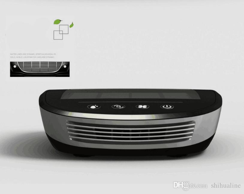 Purificateur d'air de voiture solaire intelligent pour enlever la voiture d'humidification de formaldéhyde avec un arôme au goût