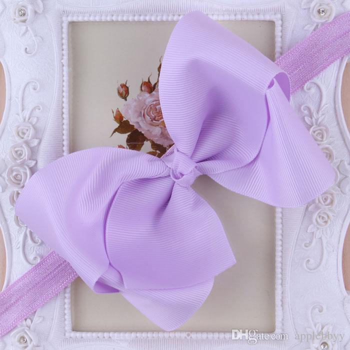 Infant Bow Headbands Girl Flower Headband Children Hair Accessories Newborn Bowknot Flower Hairbands Baby Photography Props