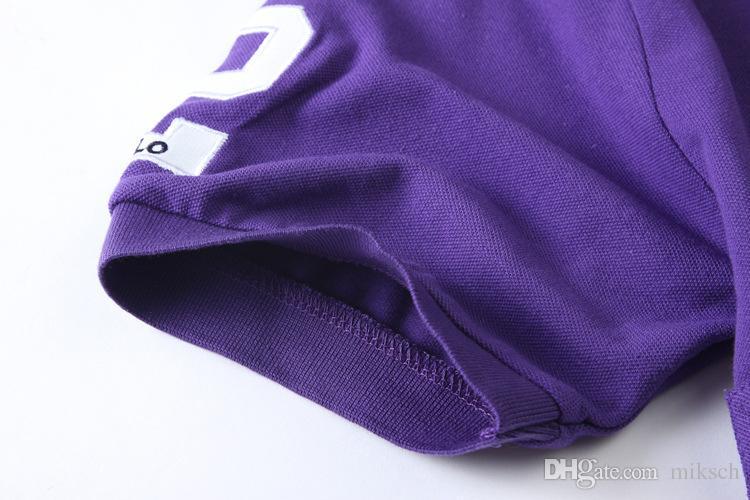 Descuento PoloShirt hombres manga corta camiseta marca London New York Chicago polo hombres Dropship barato alta calidad envío gratis