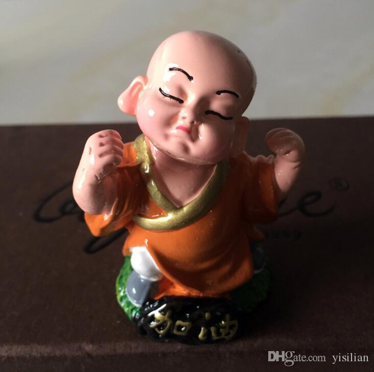 Brand new Car ornaments cute little monk car accessories security HM016 as your needs