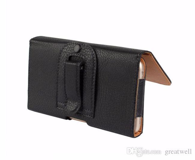 العالمي الليتشي الحبوب بو الجلود الغطاء الخصر الحقيبة مع كليب الحزام 4.7 إلى الهاتف المحمول 6.3inch لفون برو 11 ماكس ملاحظة سامسونج 10