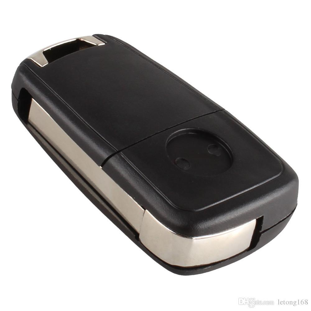 Garantili 100% Uzaktan Çevirme Katlanır Anahtar Kutu Kabuk Buick Excelle Verano LaCrosse Regal Anahtarsız giriş Fob için Araç Alarm Ücretsiz Kargo