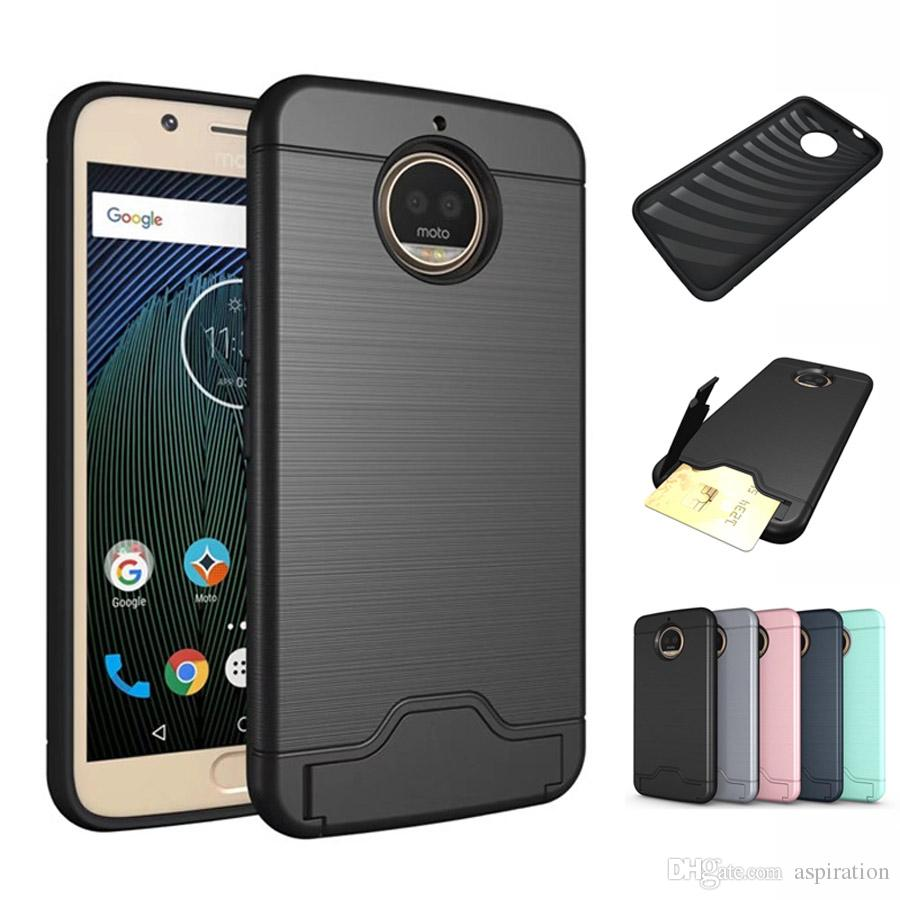 brand new 24ed9 3f190 Armor Defender Anti-Drop Rugged Protective Case Cover for Motorola Moto G5S  / G5S Plus Hybrid Dual Layer Heavy Duty Shockproof Tough Shell