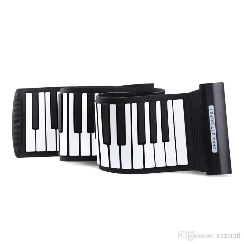 best roll up piano 88 keys light weight electronic keyboard silicone