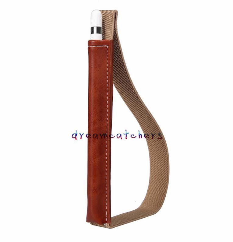 بو الجلود الحال بالنسبة لباد برو ستايلس القلم غطاء حقيبة واقية حالة مضاد للخبط مع حزام لحالة أبل آي باد رصاص