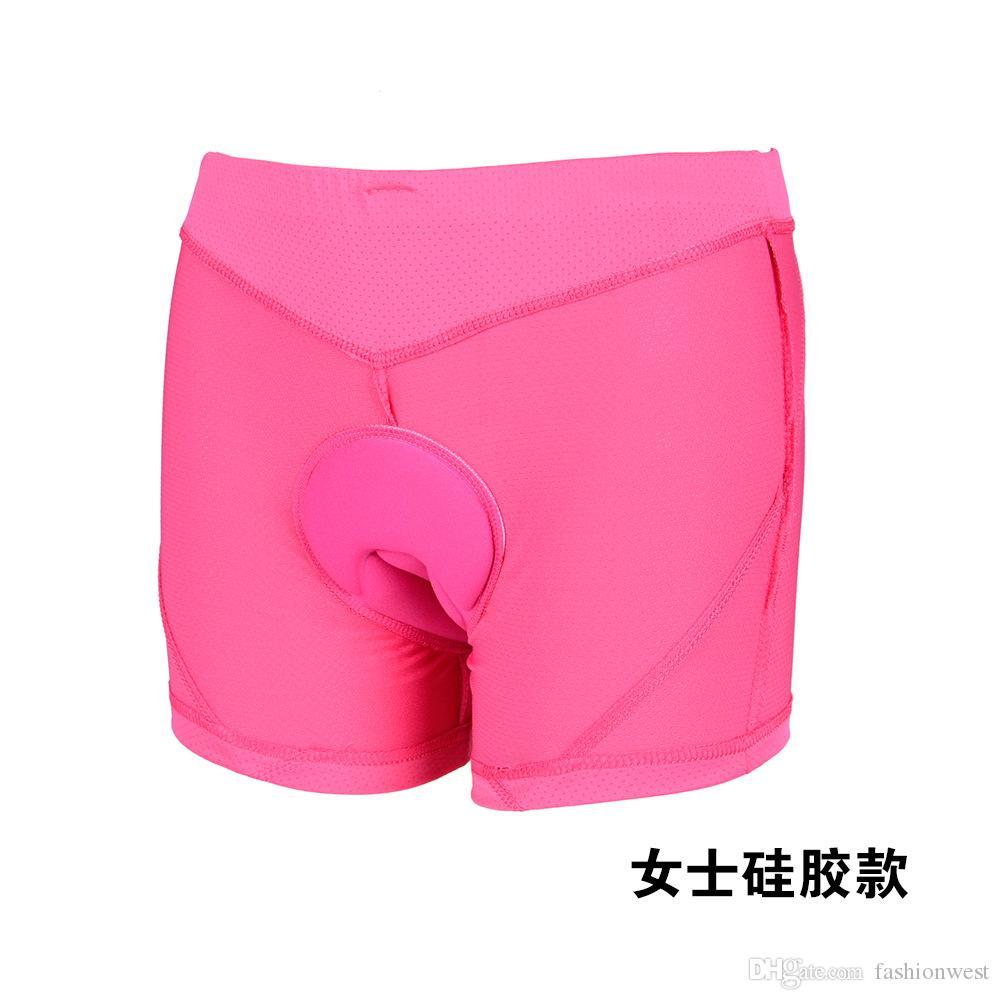 Mens Underwear Comfortable Bike Bicycle Cycling Shorts Gel 3D Padded Underwear Pants Men Women