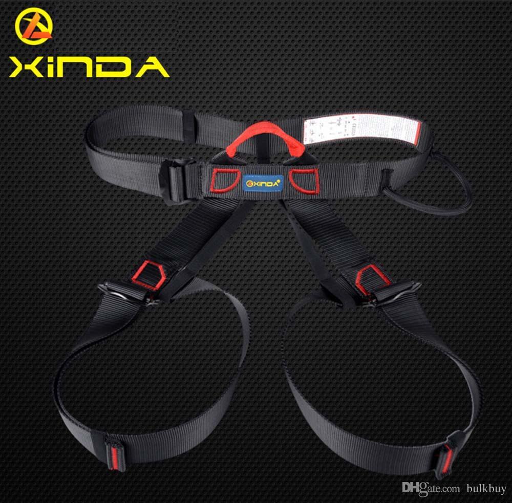 XINDA XD - A9501 Harnais Buste Ceinture de sécurité Harnais extérieur pour l'escalade en rappel Matériel de harnais Ceinture de sécurité avec sac de transport en gros