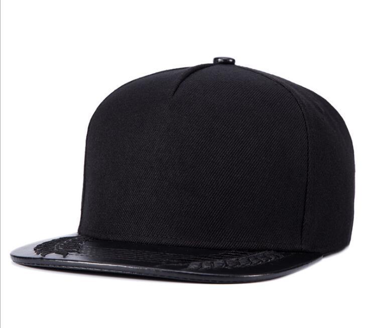 Wholesale Hip Hop Cap Male Snapback Baseball Caps Hat Ladies Rap Chapeau  Brim Straight Gorras Casquette Bone Split Joint PU For Man Women Embroidered  Hats ... d45c42df0f9d
