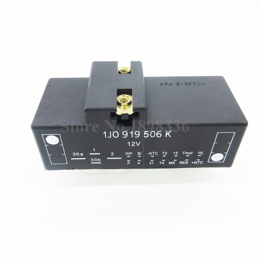 New Relay Radiator Fan Control For AUDI A3 TT VW Beetle Golf Jetta OEM 1J0919506K Cooling Fan Control Switch