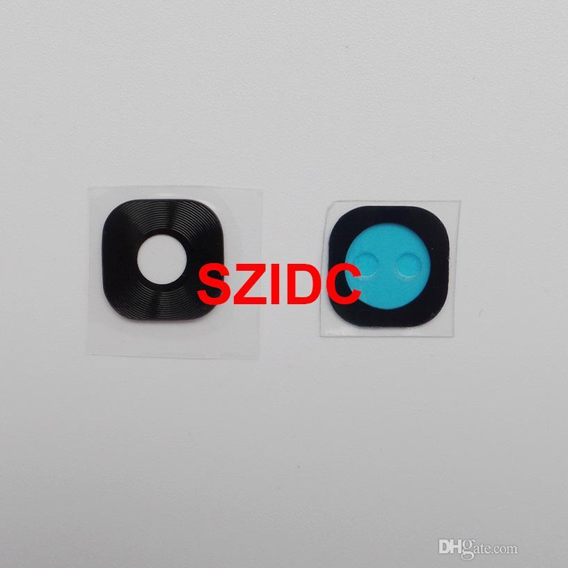 Nouvelle couverture arrière de lentille en verre de caméra arrière + autocollant adhésif pour Samsung Galaxy S7 S7 Edge