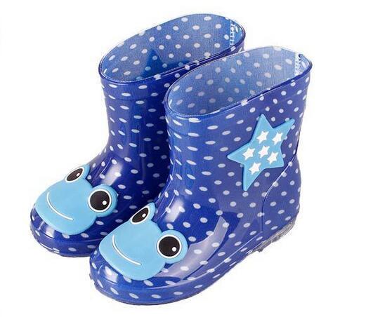 88785f863 Compre Botas De Bebé Botas De Lluvia Para Niños Con Estampado De Dibujos  Animados Niñas Niños Zapatos De Lluvia Arco Botas De Goma Para Niños A  Prueba De ...