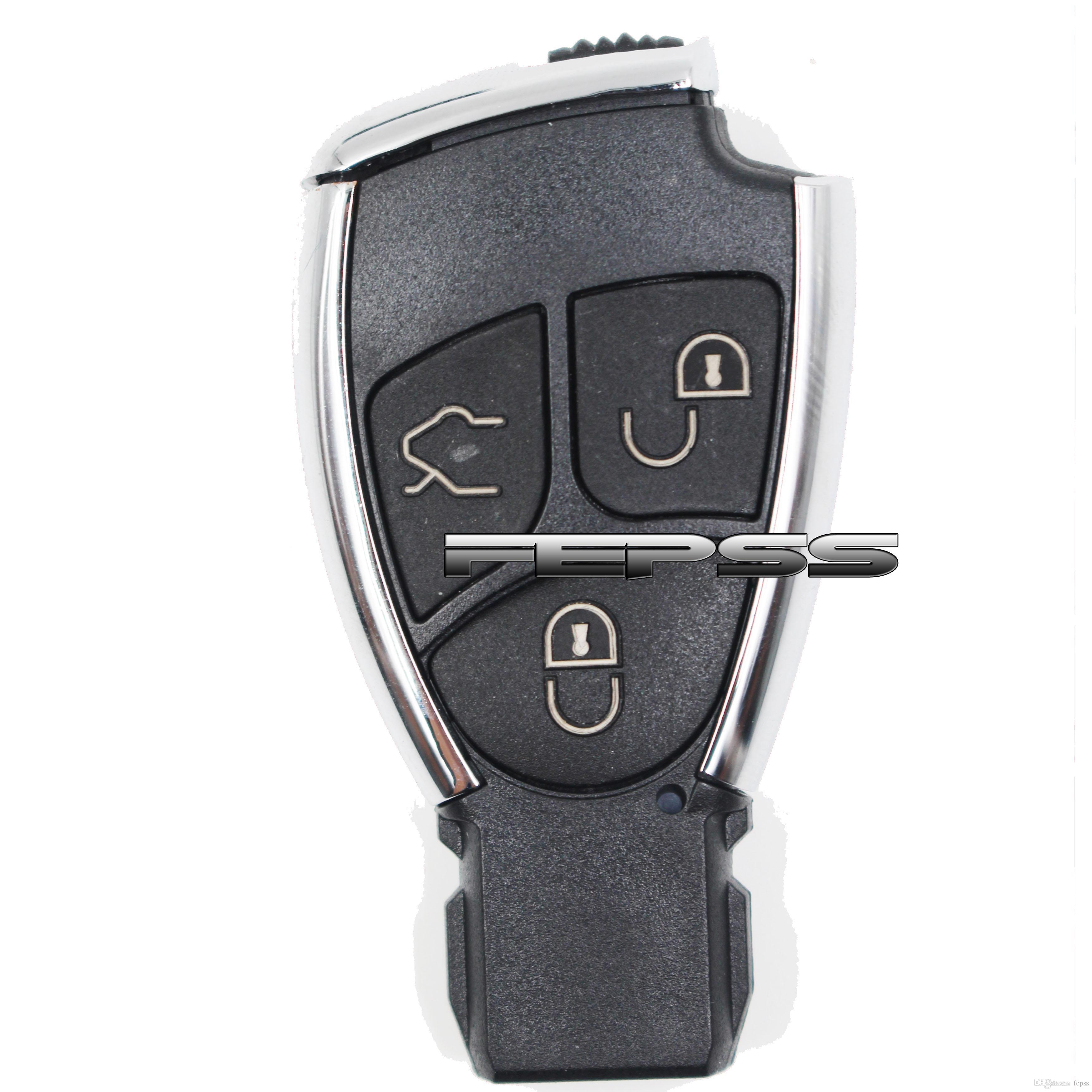 Модифицированный новый Smart удаленный ключ корпус корпуса FOB 3B для Mercedes-Benz CLS C E S