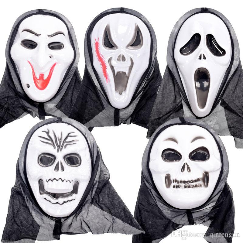 Dhl Free Halloween Party Props Horror Monster Mask Screaming Mask ...