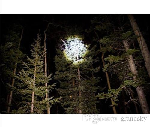 La moins chère lampe de poche LED J5 tactique V1-PRO lampe de poche ultra-lumineuse de 300 lumens Les meilleurs outils pour la randonnée, la chasse, la pêche et le camping