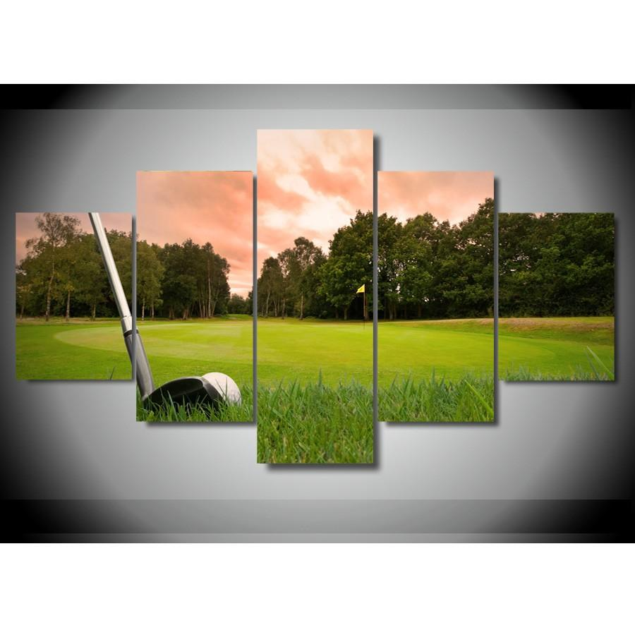 Good Golf Course V4 ,Home Decor HD Printed Modern Art Painting On Canvas  Unframed/Framed Golf Course V4 Home Decor For Living Room Oil Painting HD  Print Animal ...