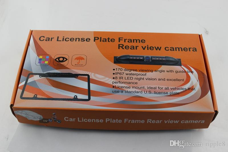 USA US Lisence Plate Car Camera For America IP67 Waterproof Car Camera Reverse Camera PZ422 DC 12V 1/4 CMOS Free Post