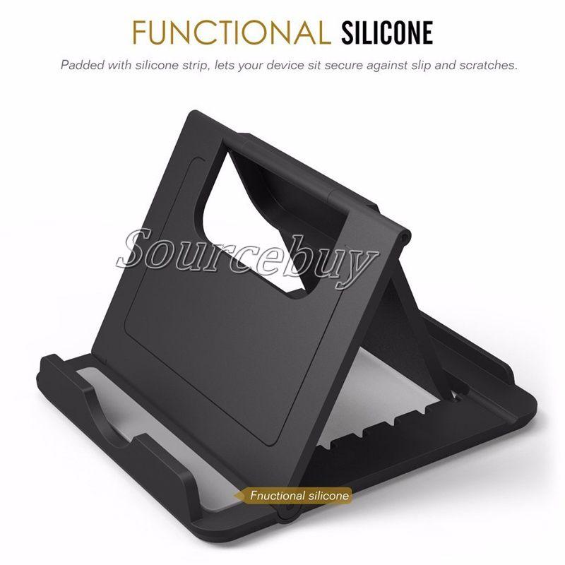 Multi-angle Adjust портативный телефон ленивый держатель универсальный складной мобильный телефон планшет настольная подставка для iPhone 8 7 плюс Samsung S8 Note 8