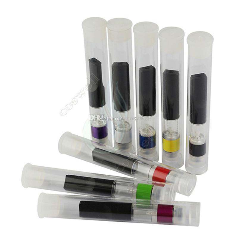 New Colorful Base & Metal drip tips CE3 BUD Touch 510 Cartridges WAX Thick Oil Vaporizer Atomizer O Pen vapor Mini cartomizers vape Tank