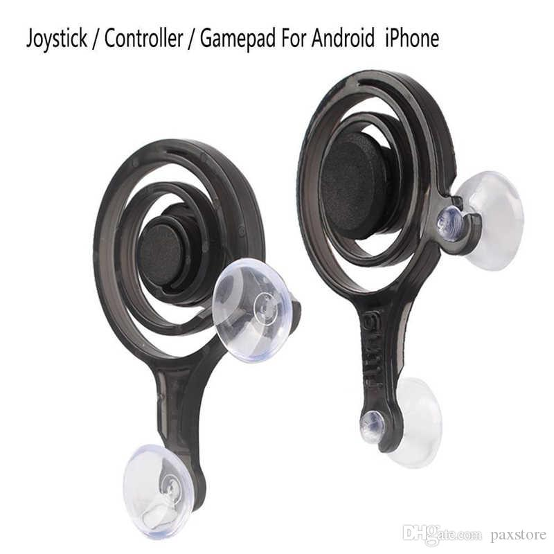 Mobile Joystick Game Touch Screen Dual analog joysticks Smart Clip for samrtphone gaming pad touch with Retail Box