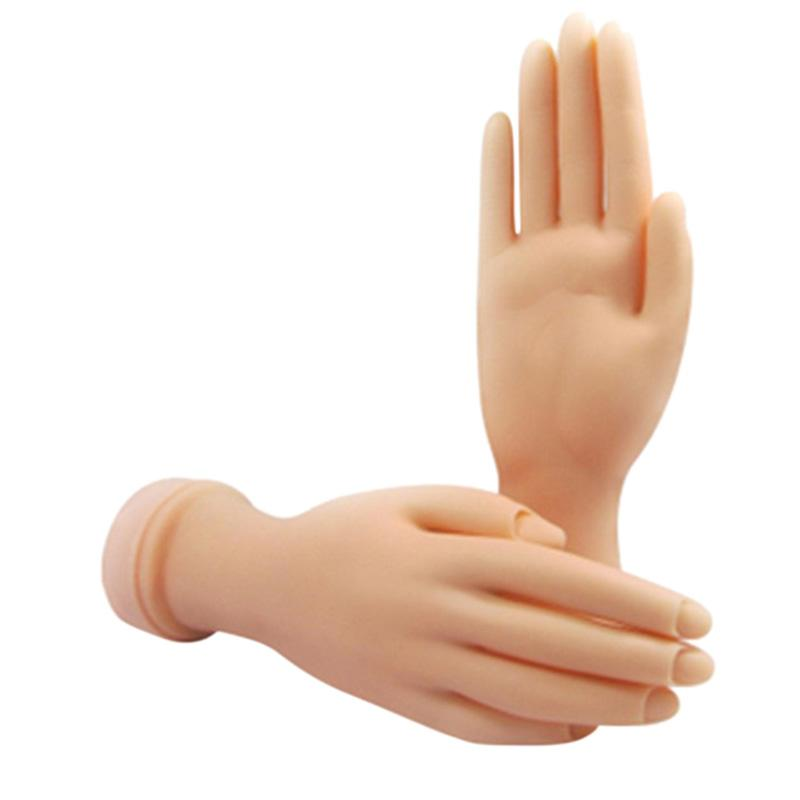 Wholesale Pro Practice Nail Art Hand Soft Training Display Model