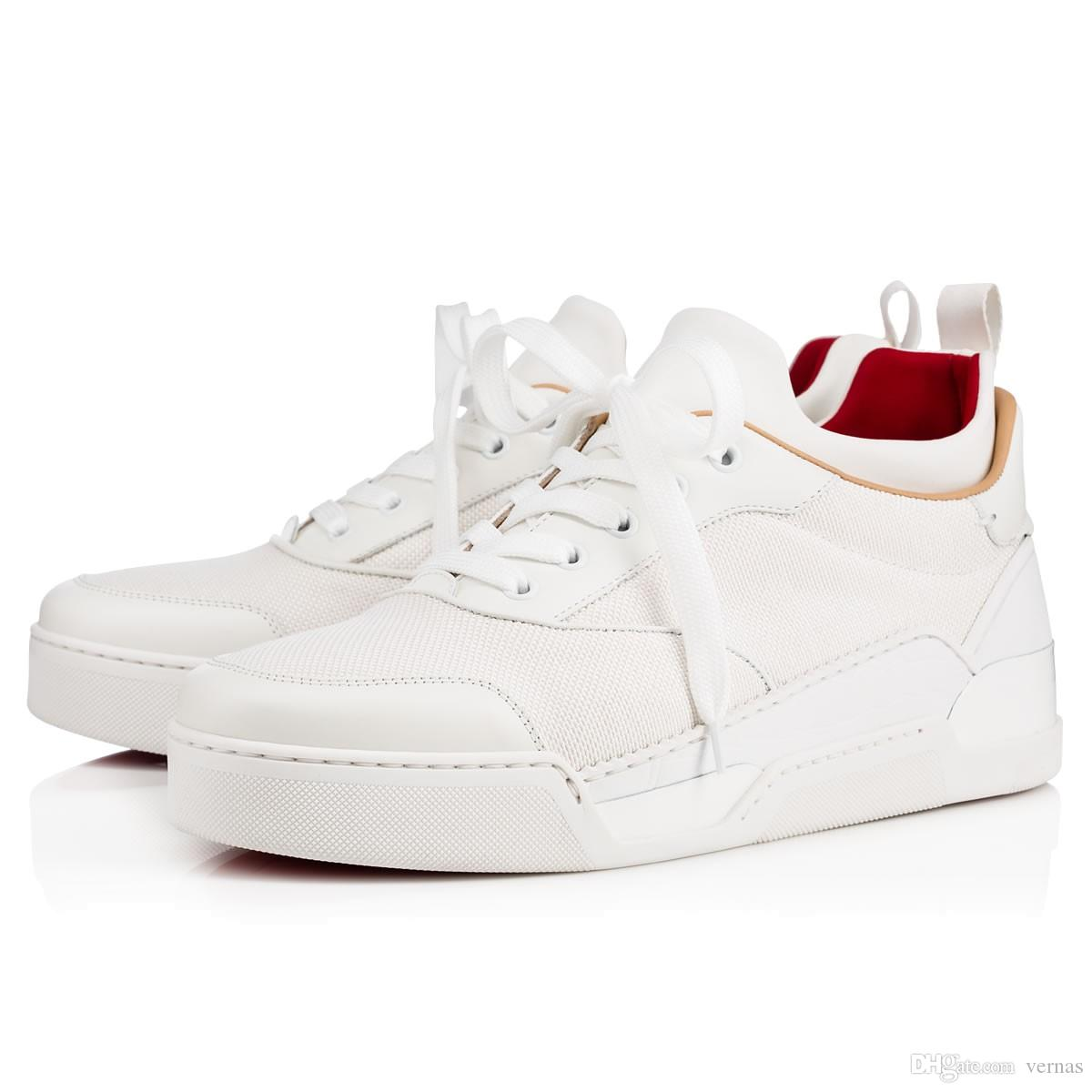 480c8b7470f3 Factory Price - Low Top With Luxurious Aurelien Flat Red Bottom ...