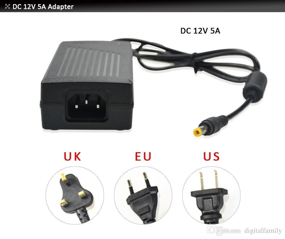 Streifenfarbenlicht Streifen-Licht RGB 5050 magisches intelligentes 150LED 5M 133 Programm + Rf-Steuerpult + 4A Stromversorgung /