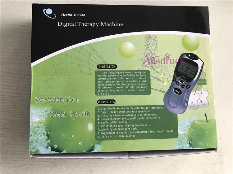 Dispositivo delgado inteligente Masaje corporal completo Terapia digital Decenas electrónicos Acupuntura Pérdida de peso Antifatiga Dolor muscular Alivio para uso en el hogar