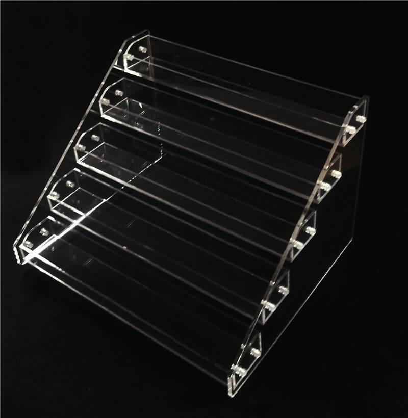 60ml E flüssige Flaschen-Präsentationsständer Ecig Cear Acrylanzeigen-Stand-Schaukasten-Halter für 60 ml Eliquid Ejuice E-Saft Flaschen-Show-Regal-Kasten